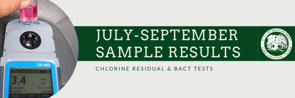July-September Sample Results