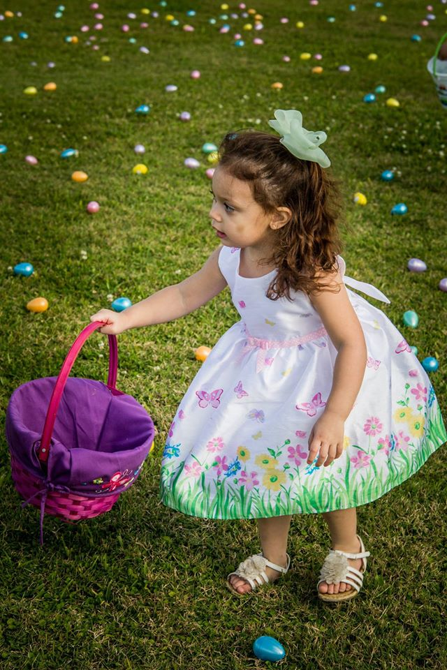 kids' egg hunt